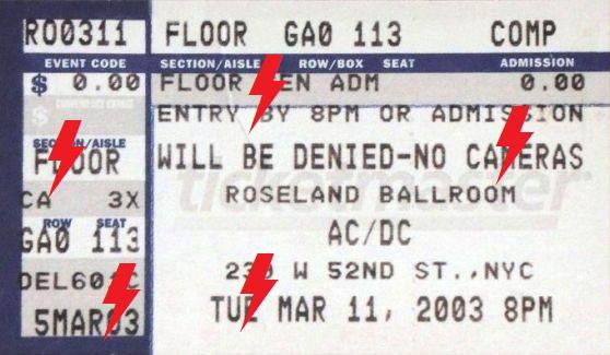 2003 / 03 / 11 - USA, New York, Roseland Ballroom 11_03_10