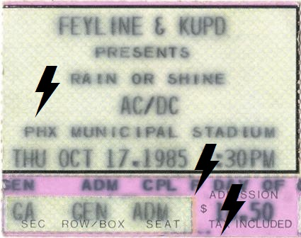 1985 / 10 / 17 - USA, Phoenix, Phoenix Municipal Stadium 17_10_10
