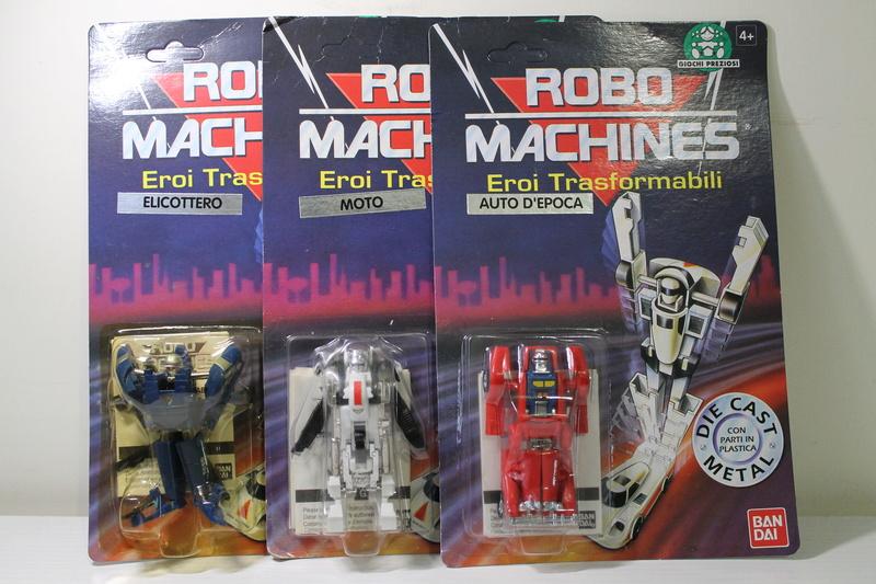 ROBO MACHINES BANDAI - Giochi Preziosi -  III Serie - 1993 - Ribasso Img_2210