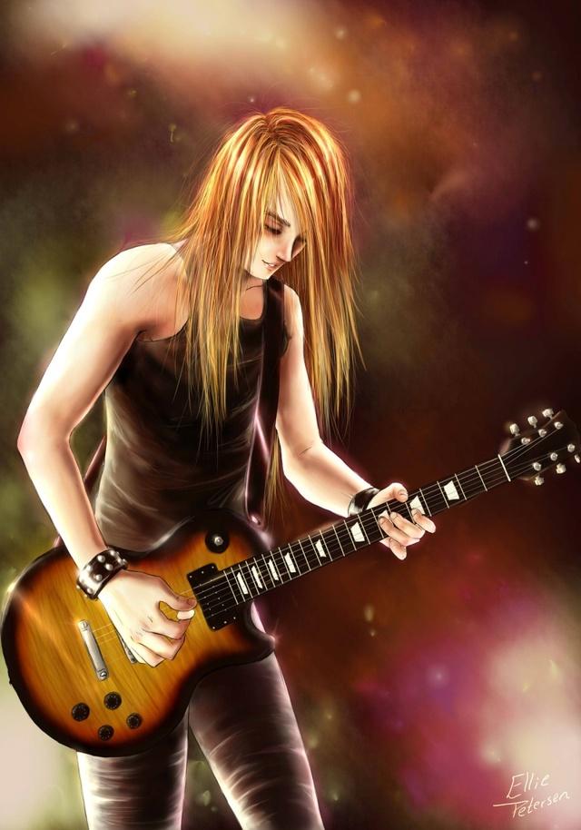 Indulging a Guitarist Rockst10