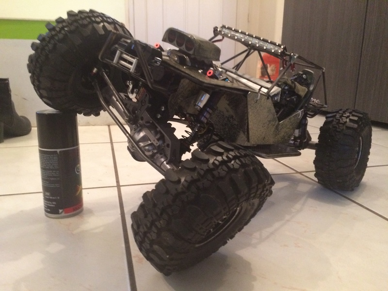 Mon Jeep a l'échelle 1/10  Img_2323