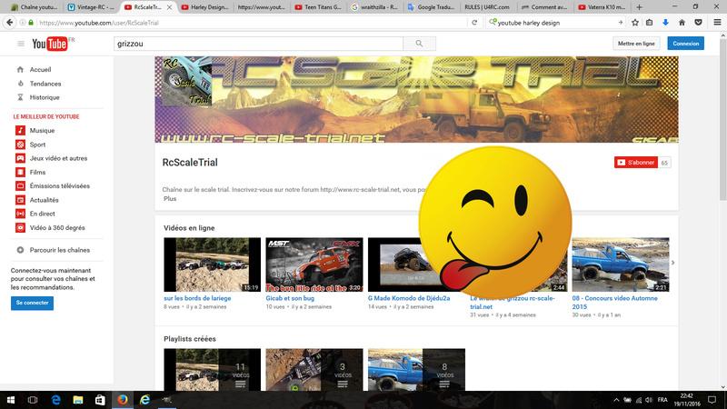 Chaîne youtube du forum Src10