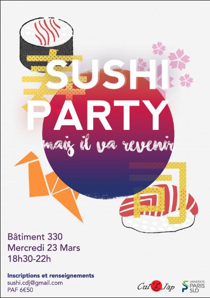 Soirée Sushis 2017 Affich11