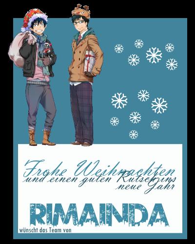 Frohe Weihnachten von Rimainda Rim_110