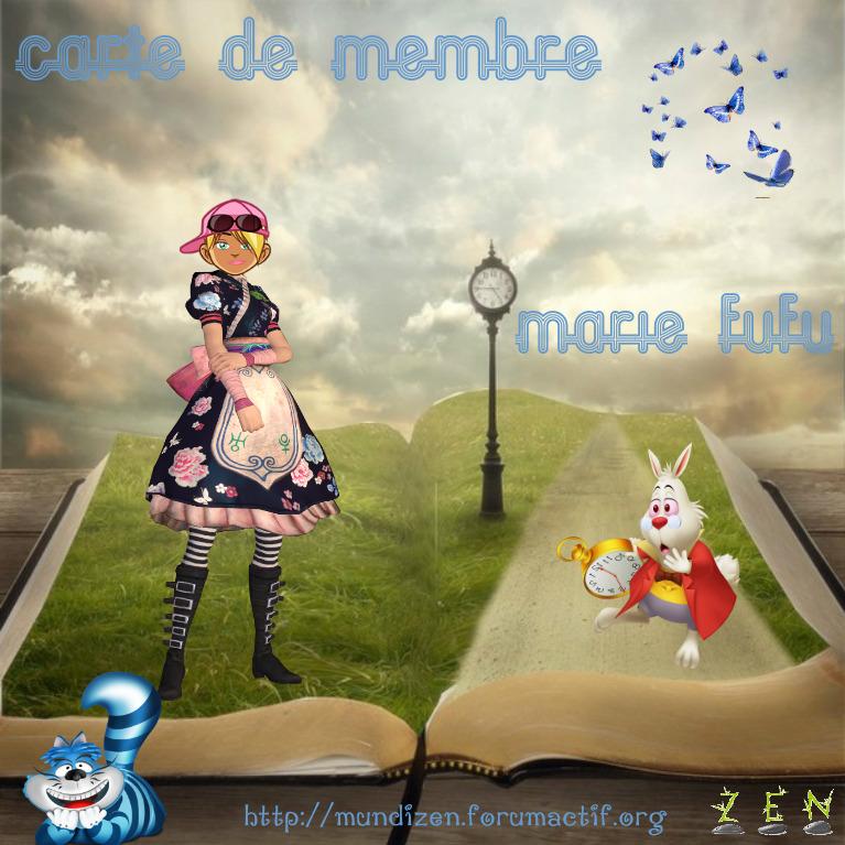 CARTE DE MEMBRE MARIEFUFU Carte_11