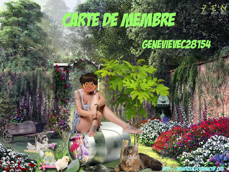 CARTE DE  MEMBRE GENEVIEVEC Carte_15