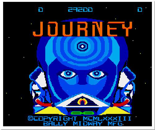 [TEST]ROM - Journey - Arcade game Introj10