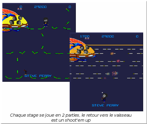 [TEST]ROM - Journey - Arcade game Jeu310
