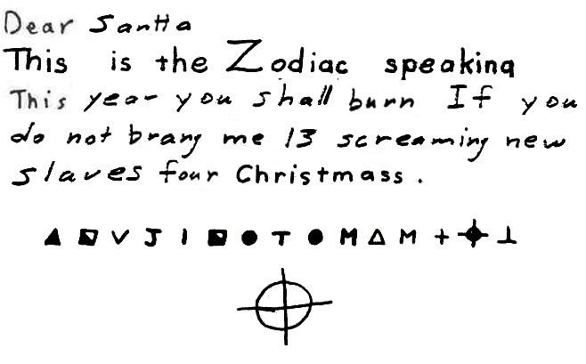 NEW: 1970 letter to Santa from Zodiac!!!!! Santaz10