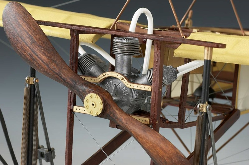 Le Blériot XI 1/10è Amati Full_111