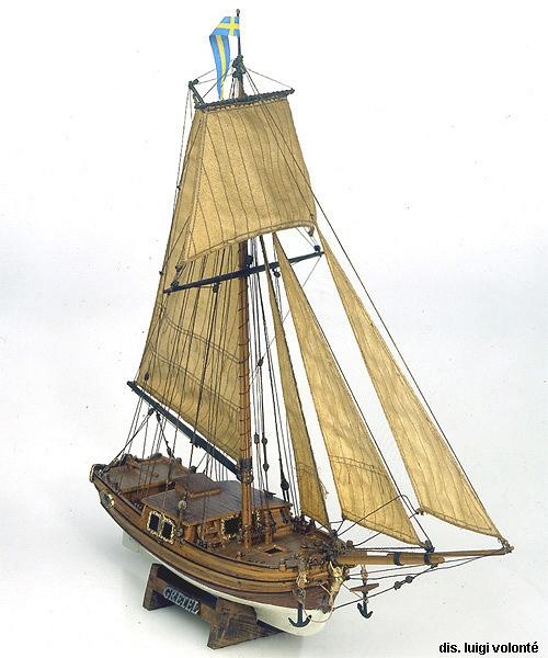 Gretel Petit yacht au 1/54 ème Stthum10
