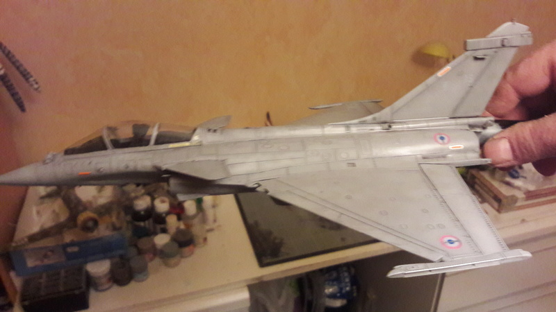 Dassault Rafale M bomb & rack 20161222