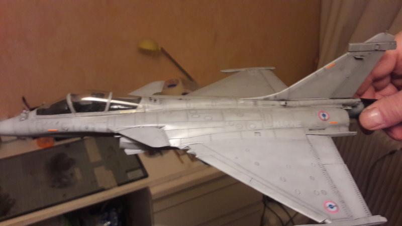 Dassault Rafale M bomb & rack 20161224