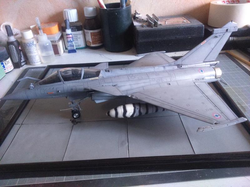 Dassault Rafale M bomb & rack Dsc_0061