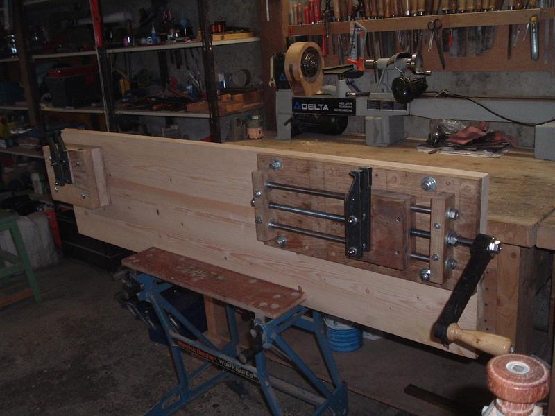 Fabrication d'une presse pour compound - Page 3 Dscf0811