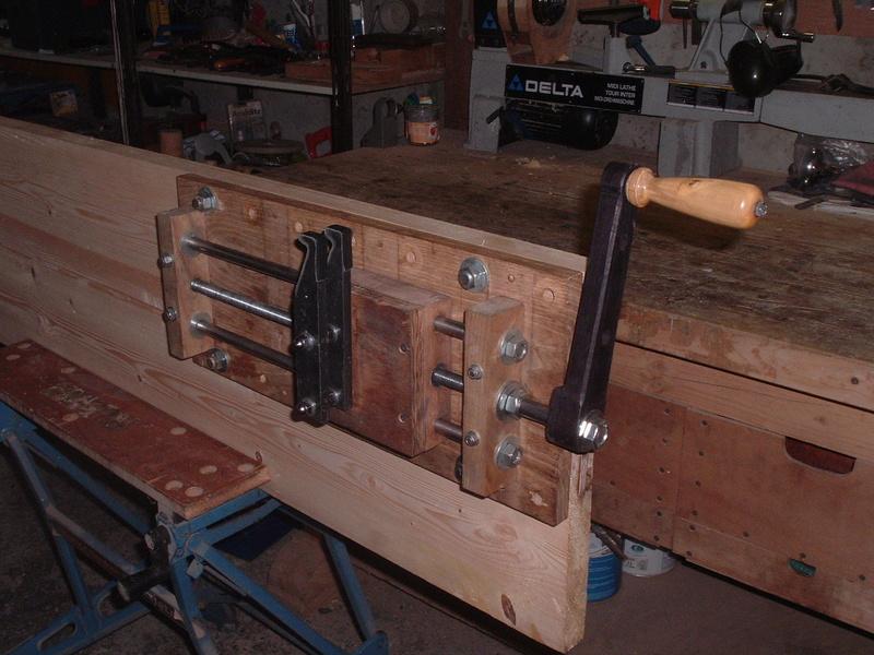 Fabrication d'une presse pour compound - Page 3 Dscf0910