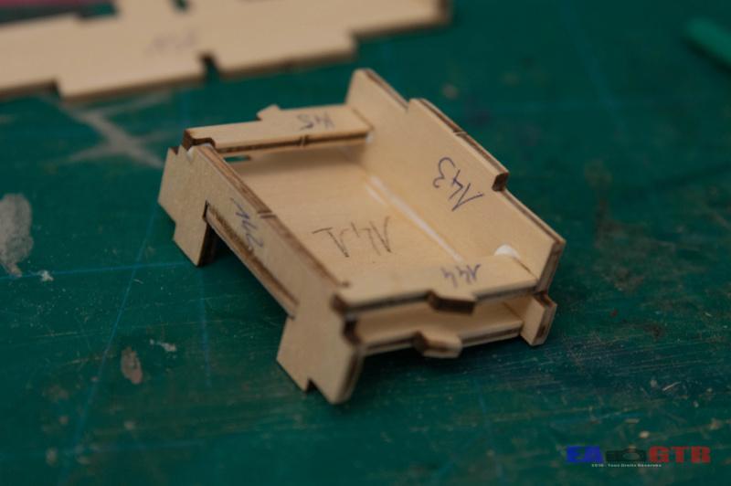 Construire le Bismarck 1/200 Hachette Bismar26