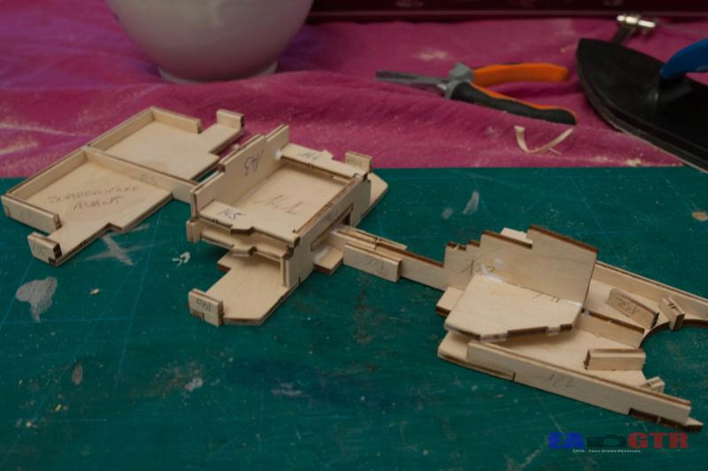 Construire le Bismarck 1/200 Hachette Bismar28