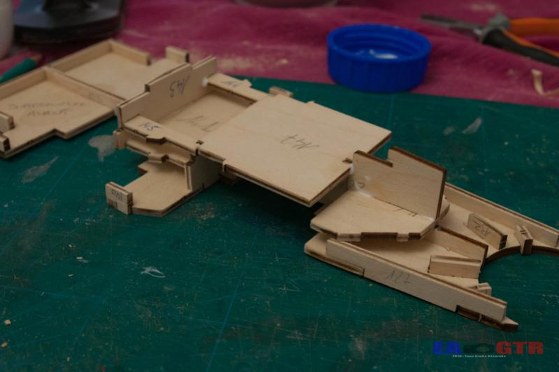 Construire le Bismarck 1/200 Hachette Bismar29