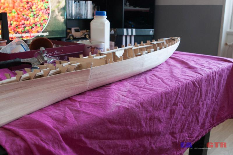 Construire le Bismarck 1/200 Hachette Bismar34