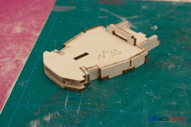 Construire le Bismarck 1/200 Hachette Bismar35