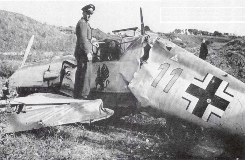 BF109E-3 Tamiya 1/48 ref:61050 avec verrière MSK et photo découpe Eduard Zoom. 1-bf-110