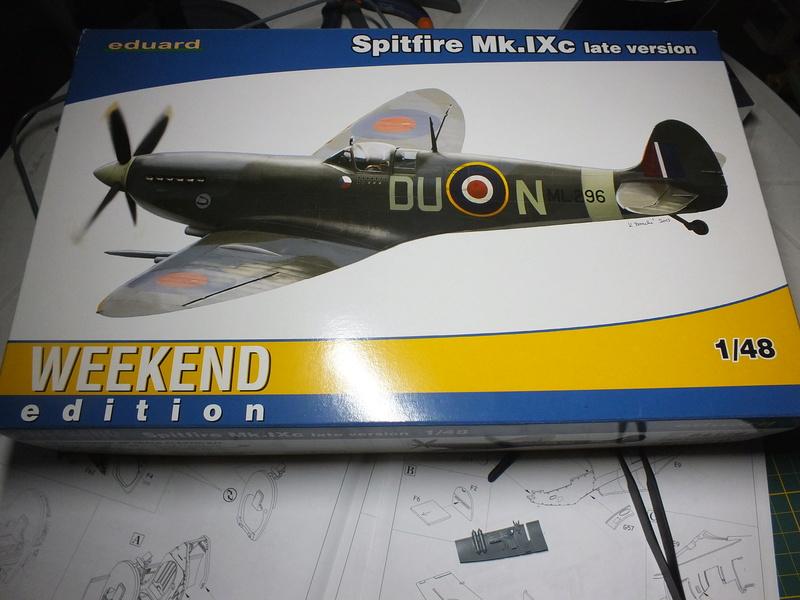 Spitfire Mk.IXc Late version Eduard 1/48. Dscf0547