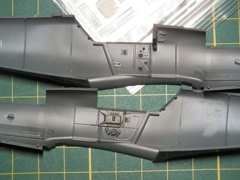 BF109G-6 Eduard 1/48 ref 8211X Dscf0551