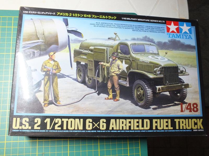 U.S 2 1/2 ton 6X6 Airfield Truck 1/48 Tamiya  32579 Dscf0825