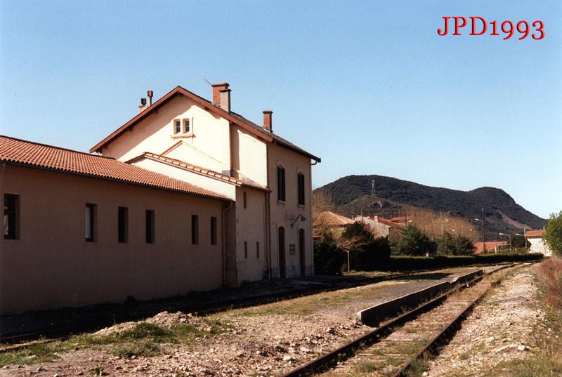 Pk 440,5 : Gare de  Mons-la-Trivalle (34) Mlt19910