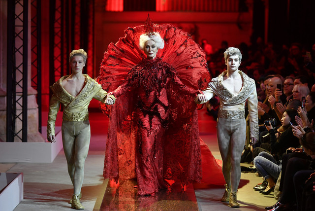 """""""The Revenant"""" Marie-Antoinette revient à La Conciergerie Guo-pe10"""