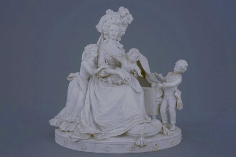 Déclinaisons faites d'après le portrait de Marie Antoinette et ses enfants de Vigée Lebrun Zzzb11