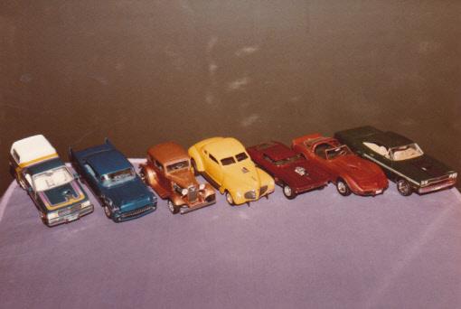 Maquettes des années 80' et 90' - Autos et camion Autos_11