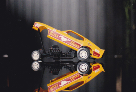 Maquettes des années 80' et 90' - Autos et camion Autos_26