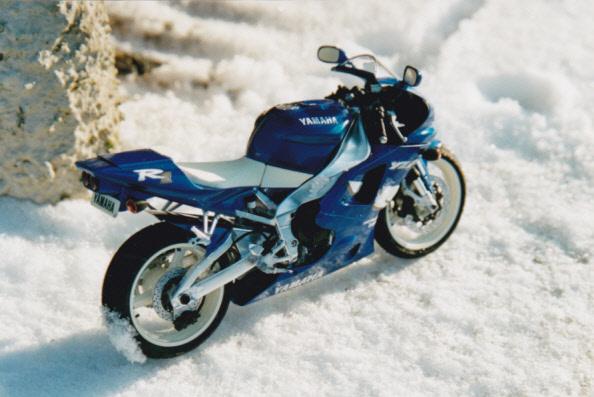 Maquettes des années 80' et 90' - Motos Yamaha10