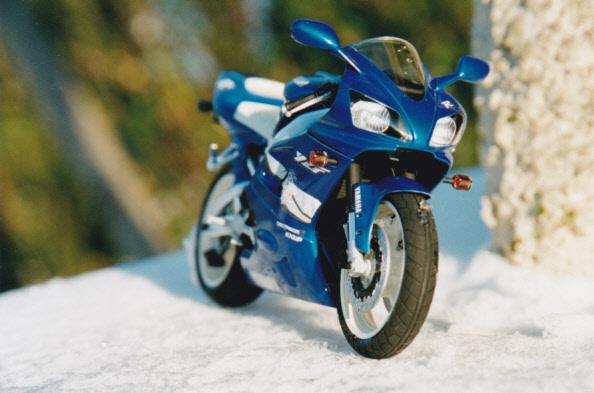 Maquettes des années 80' et 90' - Motos Yamaha12