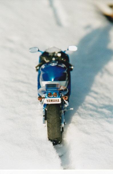 Maquettes des années 80' et 90' - Motos Yamaha14