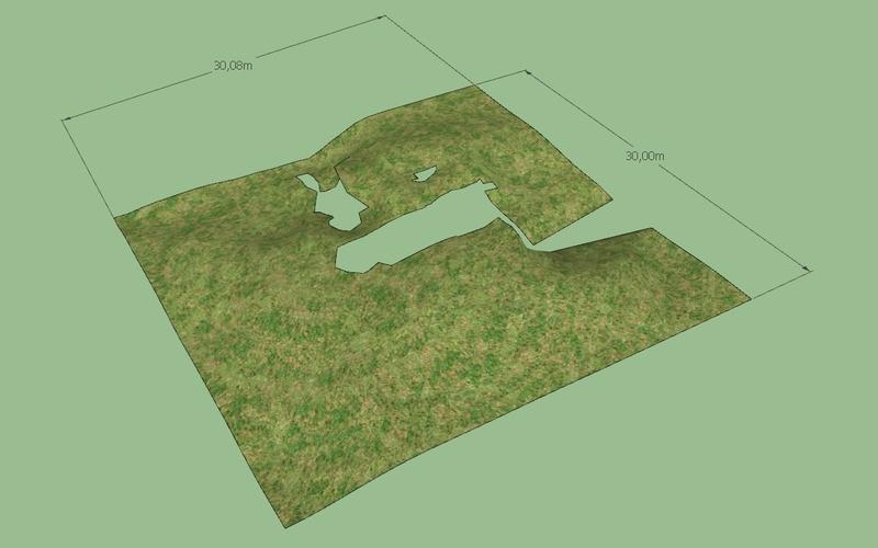[ SKETCHUP généralité ] Modélisation terrain Relief10