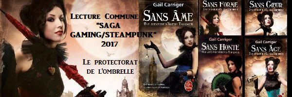 LE PROTECTORAT DE L'OMBRELLE (Tome 3) SANS HONTE de Gail Carriger Protec10