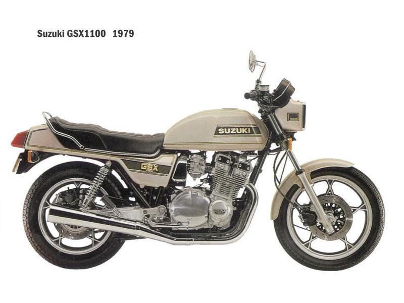 Mon GSX 1100 , époque Mittérand - Page 4 Suzuki10