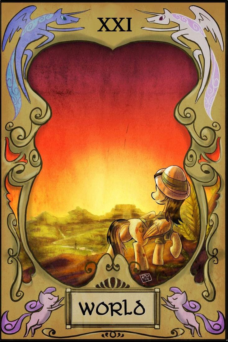 Bonne aventure - Tarot - Page 2 21_wor13