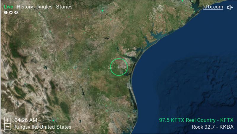 Radio Garden, le google earth de la radio, un outil extraordinaire ! Kftx210