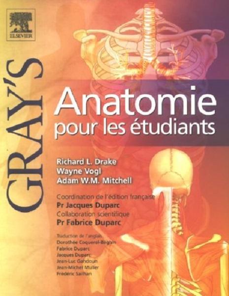 Livres Médicales - Gray's Anatomie pour les étudiants, 1ère édition 000d5b10