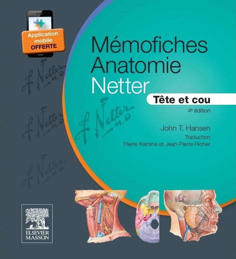 Livres Médicales - MÉMOFICHES ANATOMIE NETTER - TÊTE ET COU Mymofi10