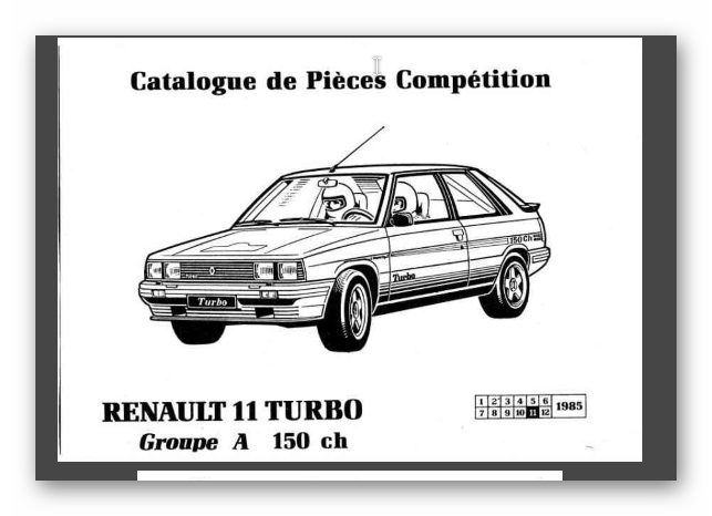 Renault 11 Turbo Gr A R_11_t10
