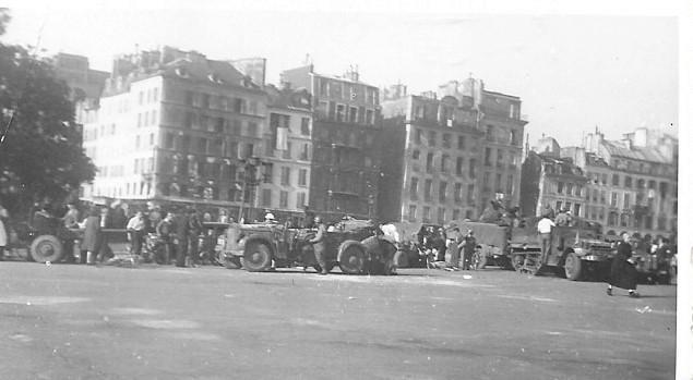 Quelques photos amateur de la libération de Paris Photos15