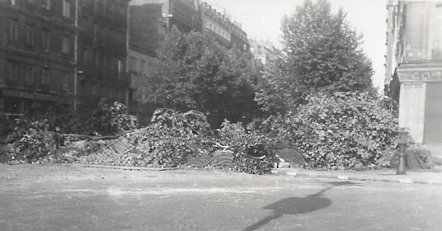 Quelques photos amateur de la libération de Paris Photos16