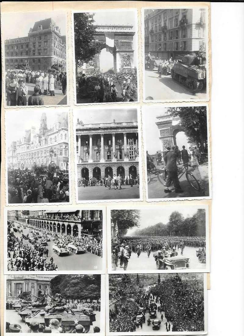 Quelques photos amateur de la libération de Paris Photos25