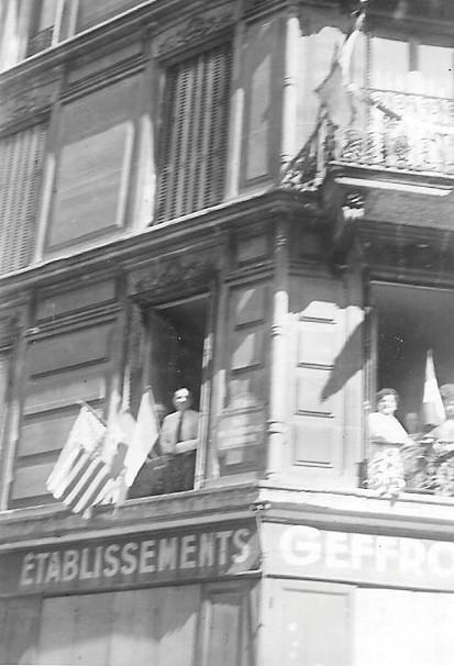 Quelques photos amateur de la libération de Paris Photos26