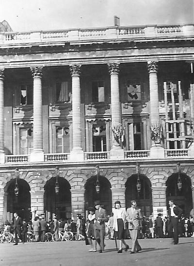 Quelques photos amateur de la libération de Paris Photos28